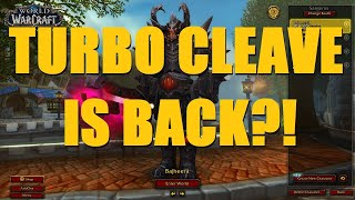 TURBO CLEAVE IS BACK IN 8.3?! (2600+ 3v3 Arena) - WoW BFA 8.3 Arms Warrior PvP