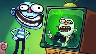ТРОЛЛФЕЙС ТВ ► Troll Face Quest Silly Test Часть 2