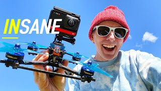 INSANE DRONE VIDEOS - Insta360 ONE R - IT CAN DO IT ALL!!! 🏆