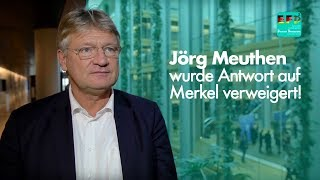 Eklat im EU-Parlament: MdEP J. Meuthen darf nicht reden!