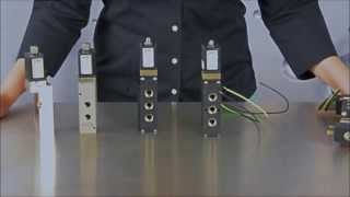 Burkert Type 6519 Solenoid Valve for Pneumatics