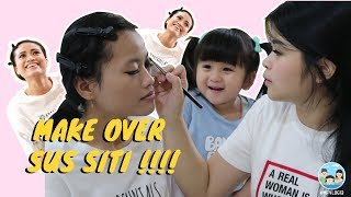 Ngakak! MAKE OVER Sus Siti! #MFVLOG13