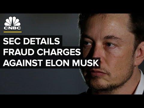 Tesla's Elon Musk sued by SEC for fraud — Thursday, Sept. 27 2018