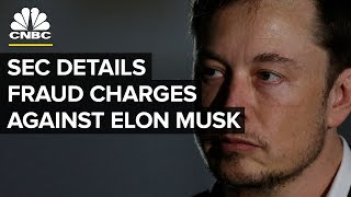 Tesla's Elon Musk sued by SEC for fraud — Thursday, Sept. 27 2018