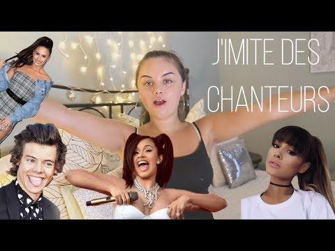 J'IMITE DES CHANTEURS/CHANTEUSES | (Harry Styles, Ariana Grande, Little Mix, Cardi B ...)