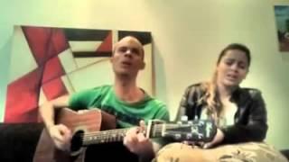 (Vine e Jú ) cantando musica do LUAN SANTANA