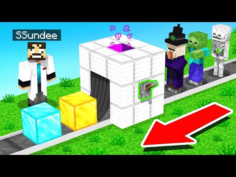 Turning MOBS into RARE BLOCKS (Minecraft Sky Factory)