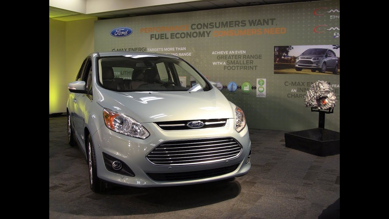 2017 Ford C Max Hybrid Plug In Energi Inside And Out Preview