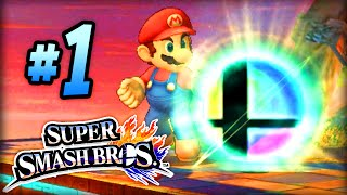 """Super Smash Bros 4 Gameplay #1! (3DS / Wii U) - """"TIME TO FIGHT!"""""""