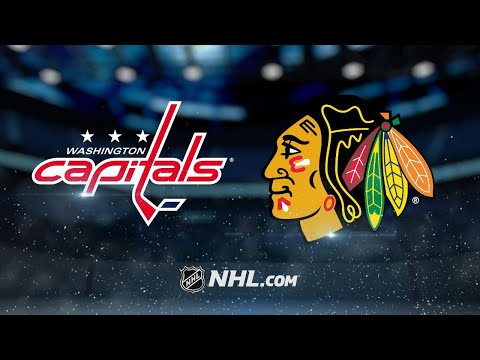 Blackhawks rout Caps to end eight-game skid