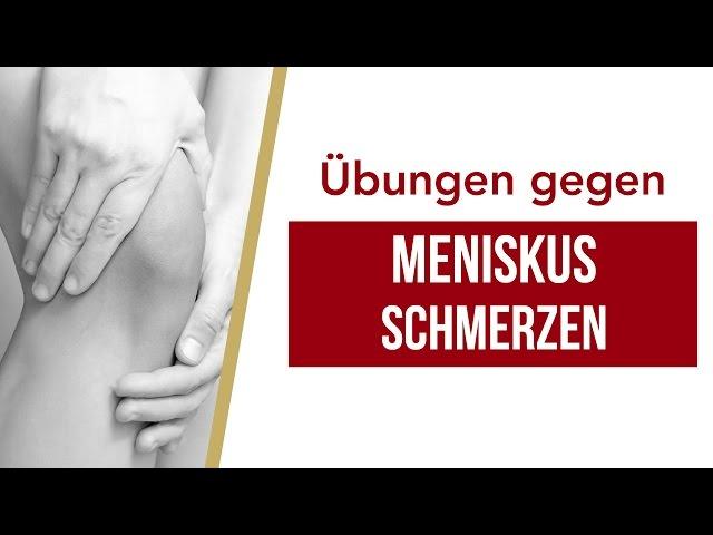 Meniskus-Schmerzen | Liebscher & Bracht  | Knieschmerzen, Übungen