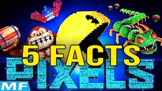 5 Facts You Might Not Know About Pixels Characters | Movie Facts