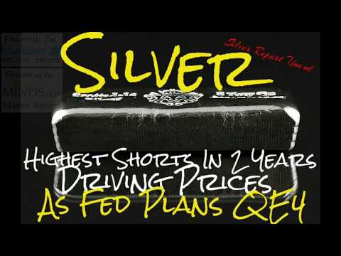 Silver Price Rallies on Record Shorts as Fed plans QE4 The Real Silver Rally Won't be Long