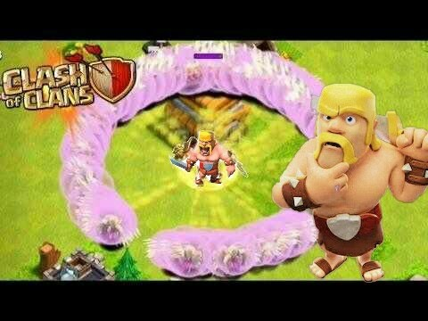 Clash of Clans - INVINCIBLE 1 BARBARIAN + 300 HEALERS (does it work??)