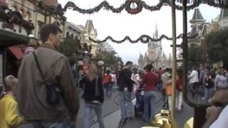 Ride on the Jitney at the Magic Kingdom (2005)