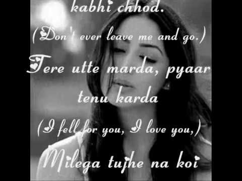 Pani Da Rang Female Version With Lyrics Translation