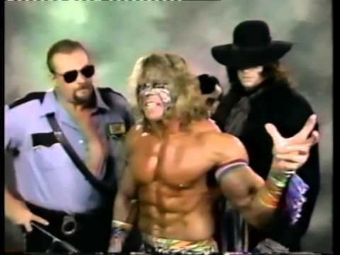 RCS Exclusive: Funny Promo Hyping Warrior, Undertaker ... Ultimate Warrior Undertaker Bossman