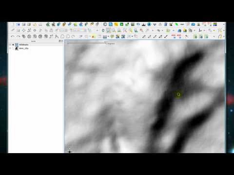 Chapter 6 : Create hillshade model and contour line (QGIS)