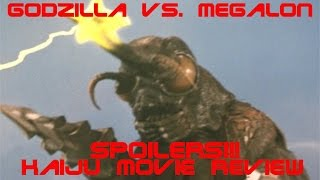 GODZILLA VS MEGALON (1973)- KAIJU MOVIE REVIEW