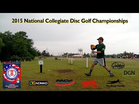 2015 National Collegiate Disc Golf Championships Round 1 - Oregon Vs Oregon State; Old Glory (Black)