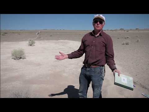 Gregory J. Retallack describes Fossil Lake Columbian Mammoth Trackway Site
