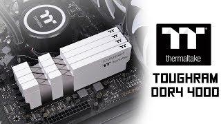 [Cowcot TV] Présentation mémoire DDR4 Thermaltake Toughtram 4000