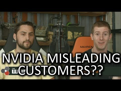 NVIDIA Pulling MORE BS! - WAN Show April 6 2018