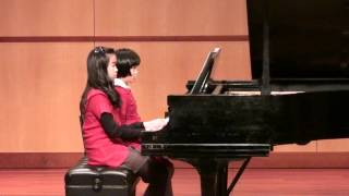 "Kimberly and Kaitlyn play ""Song of India"" duet"