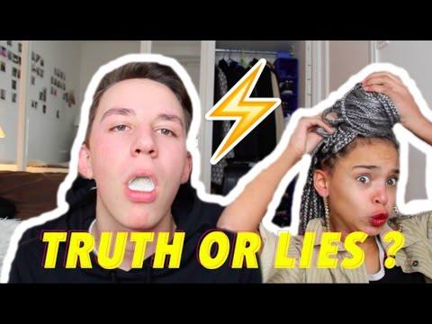 TRUTH OR LIES  CHALLENGE W/ALIX
