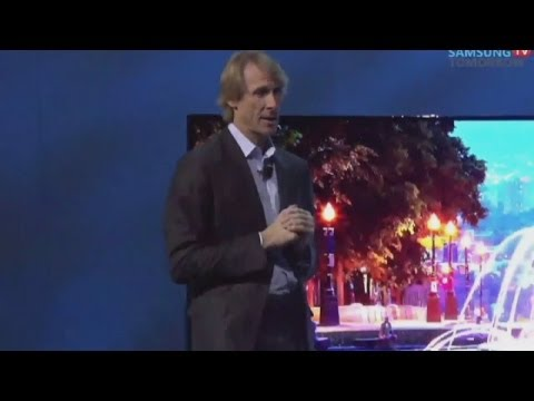 CES 2014: Director Michael Bay walks out of Samsung TV presentation after autocue fails