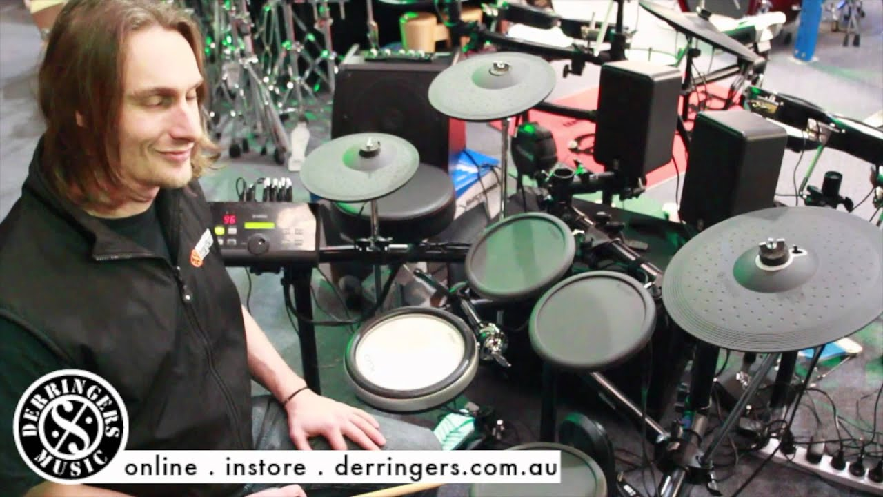 Yamaha DTX520 Electric Drum Kit Review @ The Drum Shop Derringers Music