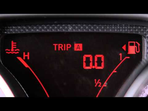 2013 NISSAN Versa Sedan - Twin Trip Odometer/Trip Computer