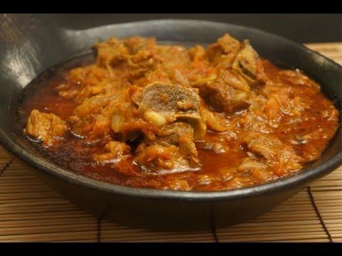 Ethiopian Beef & Tomato with Berbere & Mitmita Recipe Injera - Amharic with English subtitles