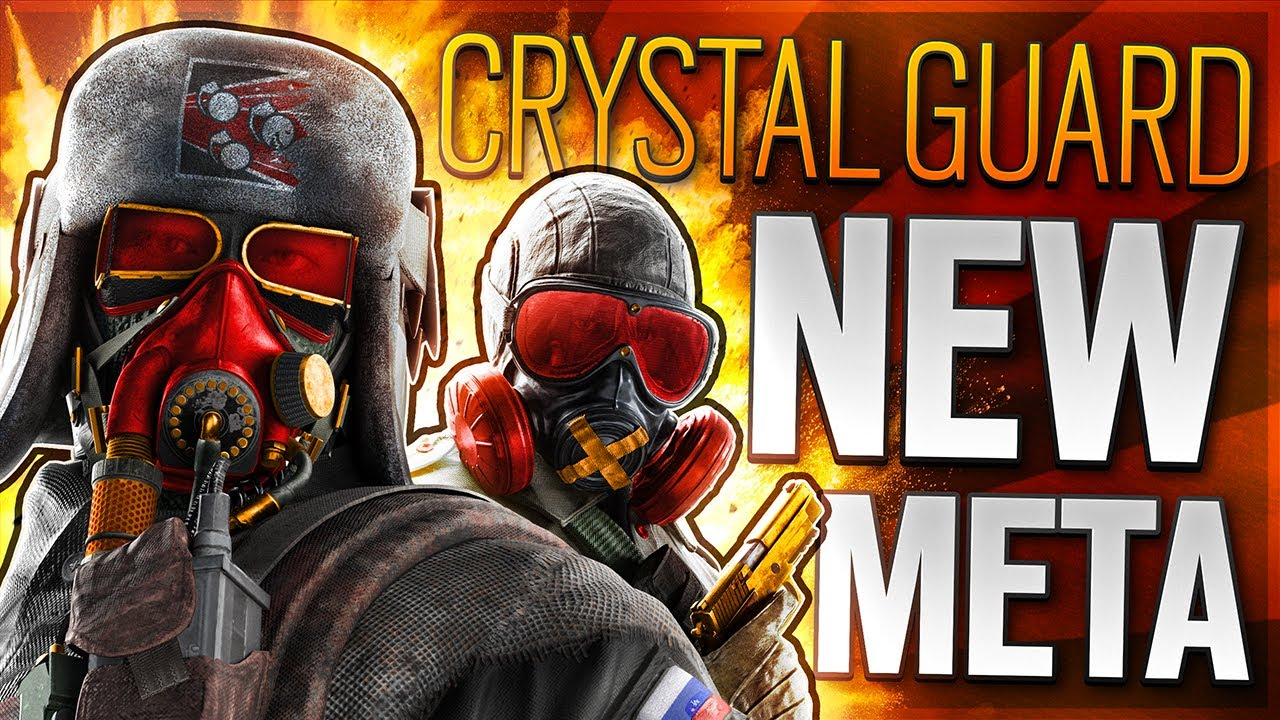 The *NEW* Crystal Guard Meta In Rainbow Six Siege Is INSANE 😨