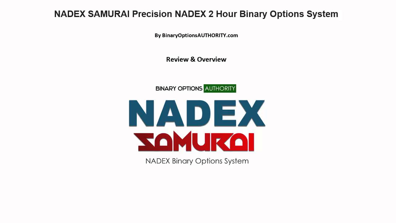 Nadex binary options youtube scam