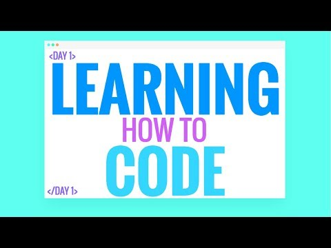 Learning How To Code A Website Complete Beginner - HTML And CSS Day 1