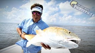 How to catch Big Redfish in the Lousiana Delta - Saltwater Challenge
