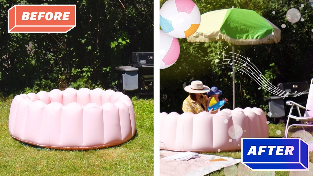 8 Ways to Upgrade your Kiddie Pool set up