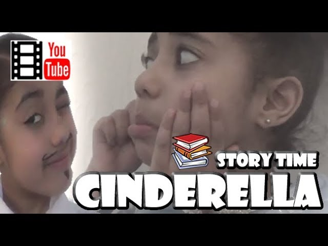 DISNEY CINDERELLA Fairy Tale Bedtime Story For Kids - Read out loud - OhmymeTV
