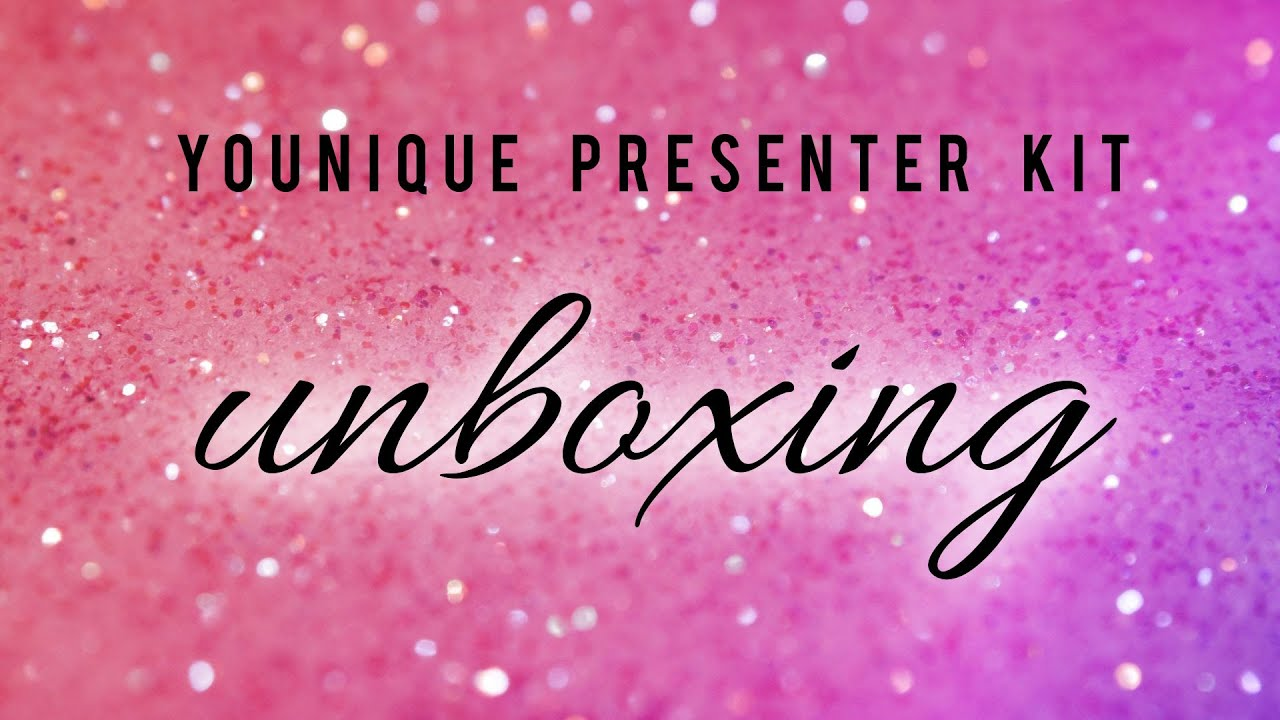 younique presenter kit unboxing october 2015 youtube