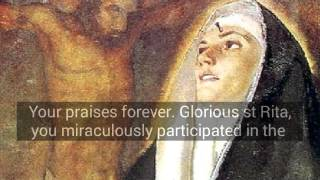 Novena and prayer to St Rita. In all necessities.