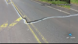 Earthquakes cause road cracks, structural damage in Hawaii Volcanoes National Park