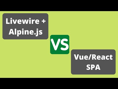What's the Future of Livewire and Alpine.js?