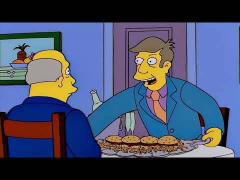 The Simpsons Skateboarding Skinner Voice Clips