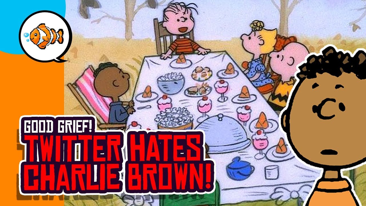Charlie Brown Christmas Racist.A Charlie Brown Thanksgiving Outrages Twitter