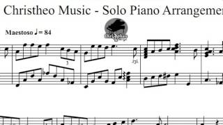 Jasamu Guru solo piano sheet by Christheo Music