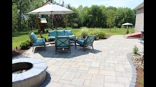 Outdoor Living Space Construction Time Lapse