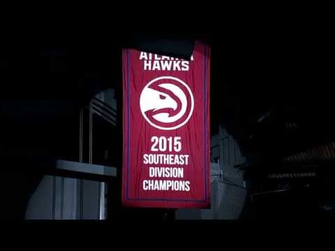 Hawks Southeast Division championship banner