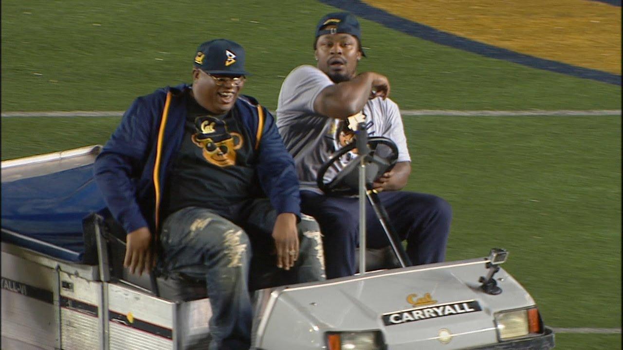 Marshawn Lynch recreates golf cart joy ride with mom, Bay Area legend E-40