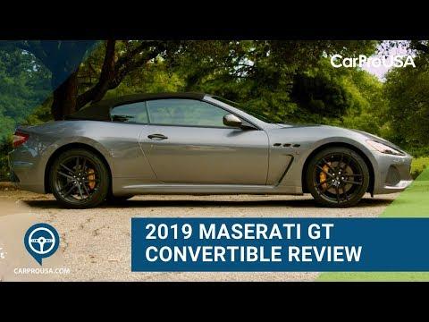 2019 Maserati GranTurismo Convertible Review